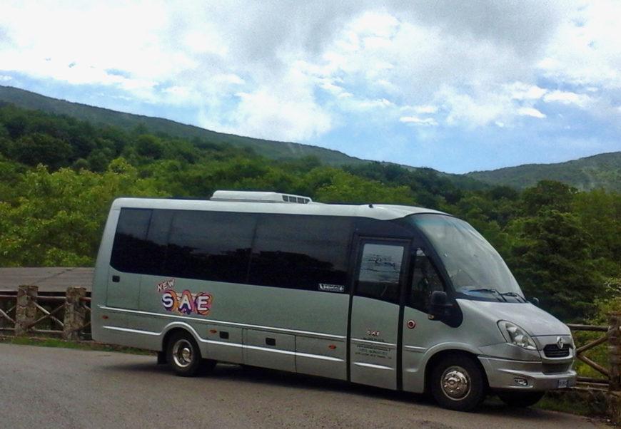 Minibus Irisbus Iveco [pax 27] + Autista a disposizione